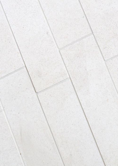 Paloma Limestone White 3 X 11 Subway Tile