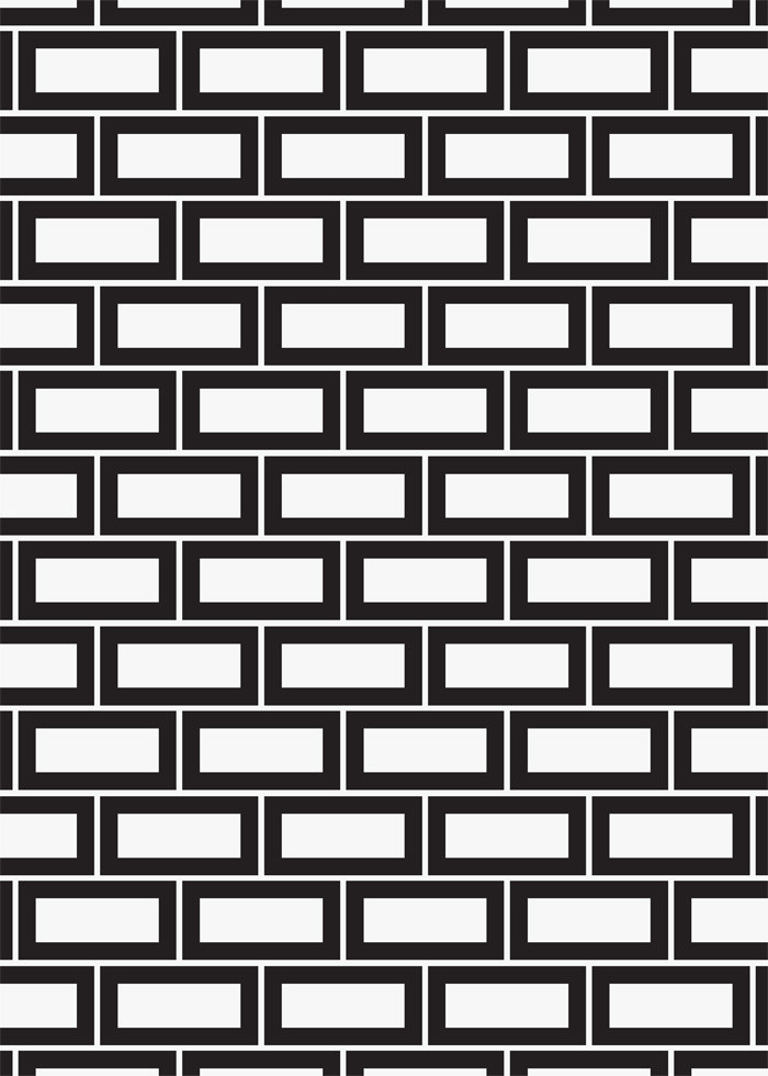 "1"" X 2"" Brick Mosaic"