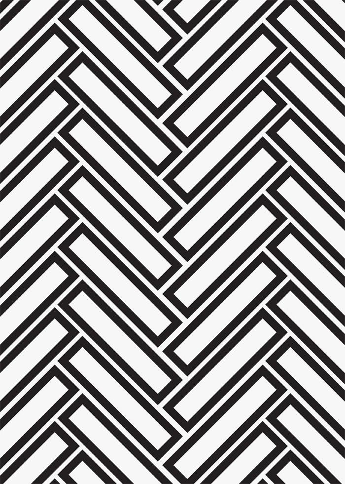 1 X 4 herringbone tile mosaic