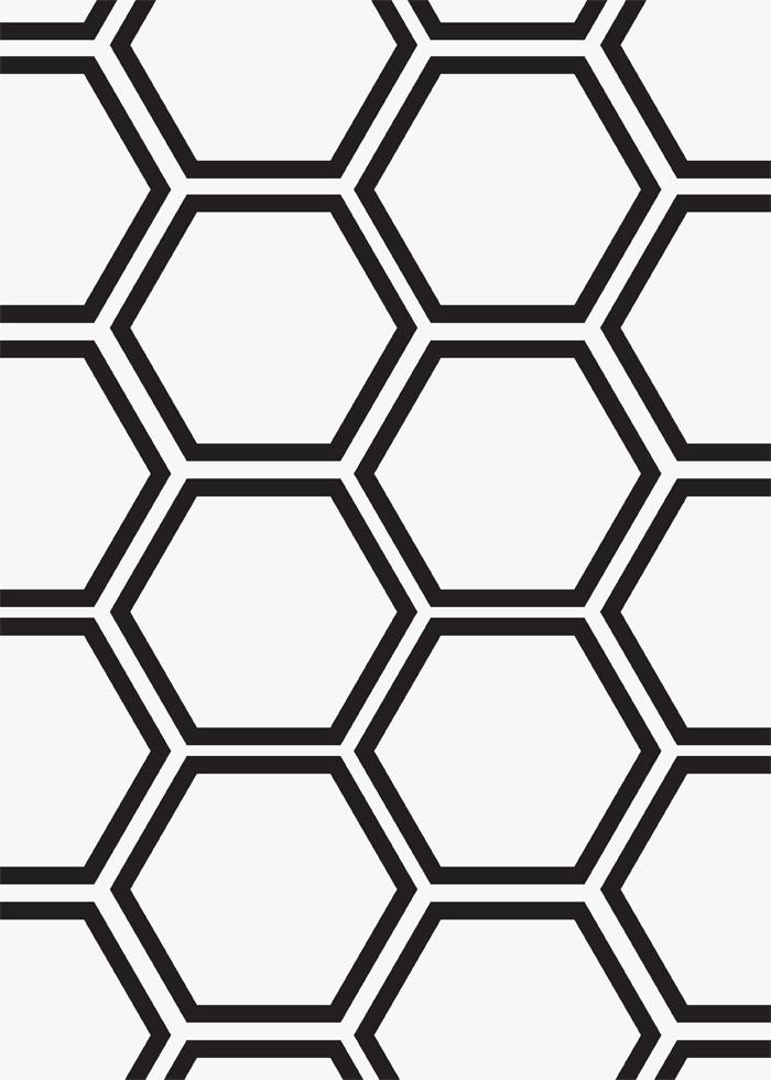 """2"""" Hexagon Mosaic White Marble Porcelain"""