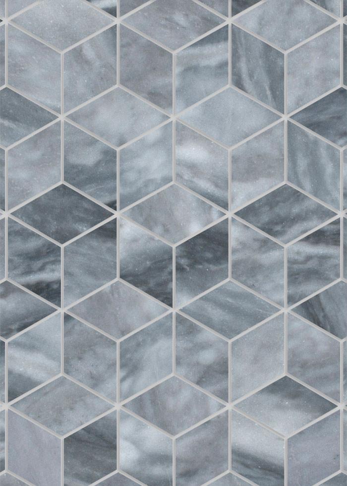 Redondo Bardiglio XL Diamond Tile