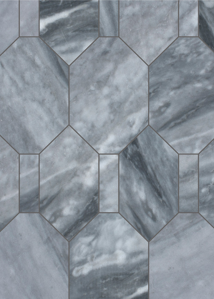 Wiltern Bardiglio Grande Backsplash Flooring Tile